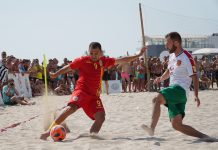 Romania fotbal pe plaja