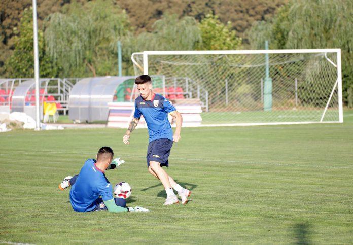 antrenament Romania U21