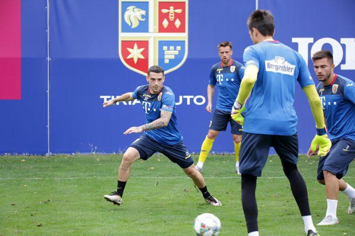 antrenament echipa nationala