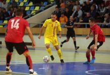 Romania Albania futsal Arad