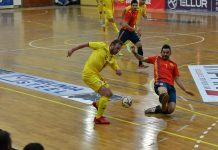 Romania Spania futsal