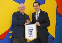 Razvan Burleanu Greg Clarke FRF The FA