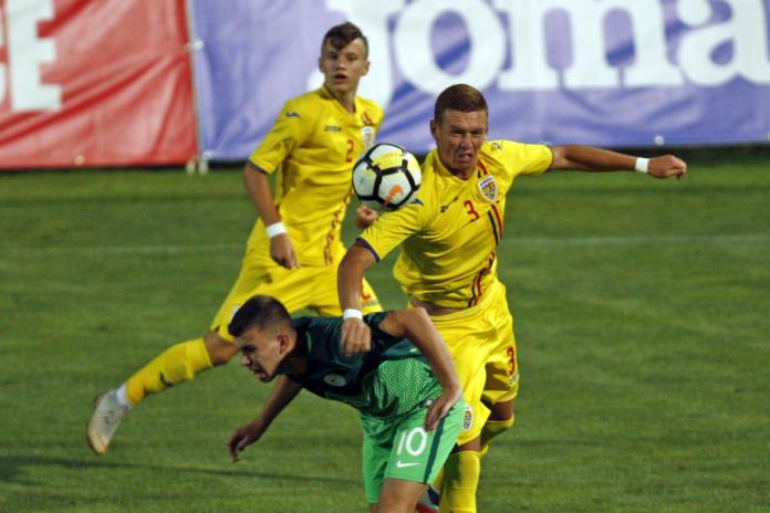 romania u17 - amical vs Slovenia