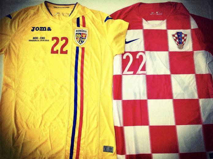 Tricou Romania Croatia